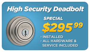 High Security Lock Special